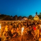 Abendszene beim Kivelingsfest
