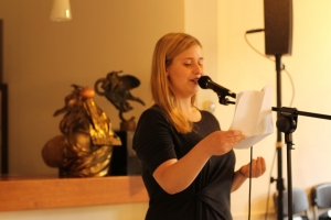 Rahel Babic - Siegerin des Poetry Slams